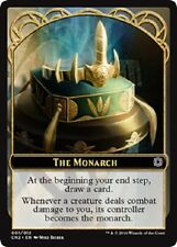 The Monarch  NM X100 Conspiracy: Take the Crown Token Emblem MTG
