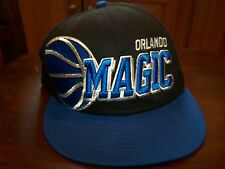 Orlando Magic New Era One Size Fit Most Hardware Classic Snapback Adjustable Cap