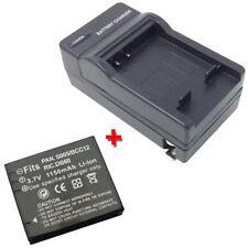 Battery&Charger for LEICA D-LUX 2 3 4 D-LUX2 D-LUX3 D-LUX4 DLUX3 DLUX2 DLUX4