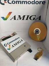 Fully Loaded Commodore Amiga Flash Floppy Gotek Drive