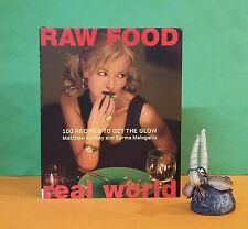 M Kenney: Raw Food ~ Real World: 100 Recipes To Get The Glow/vegetarian food