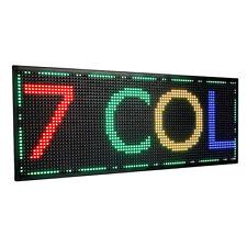96x32 LED Laufschrift Reklame Werbeanzeige Leuchtreklame 3072 LEDs - 7 Color