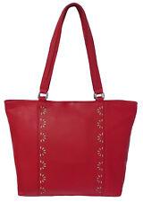 50% OFF Rowallan Women's Red Leather Shoulder Bag