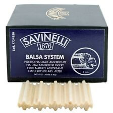 Savinelli Pfeifenfilter Balsaholz 9 mm 50 Stück