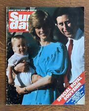 Royal News of the World Magazine April 1983 Prince Charles Diana William
