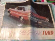 1963 SUPER TORQUE FORD A Manuel of various Ford Galaxie Sedans