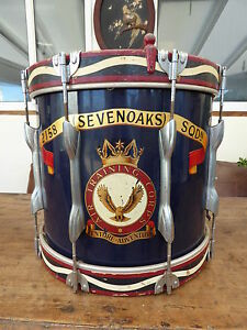 215A SEVEN OAKS SQDN ATC MILITARY  DRUM  FREE SHIPPING TO MAINLAND ENGLAND