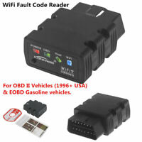 ELM327 WiFi  OBD2 OBDII Car Auto Diagnostic Scanner For iPhone Android