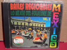Bailes Regionales - Lo Mejor del Folklore de Mexico Volume 1 CD Rare LATIN