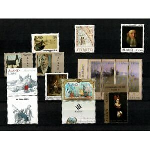 Aland 1986/2008 Lotto 13 Values MNH Art Series Complete MF65847