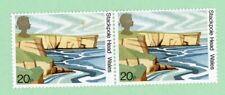 United Kingdom 2 stamps, Sc 947 (pair), Stackpole Head ,1981 , Mnh