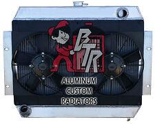 "1973-1985 Jeep CJ-7 radiator ""all Aluminum"" with Dual  Fan /shroud"