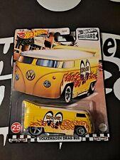 Hot Wheels Premium Boulevard Volkswagen VW Drag Bus Mooneyes