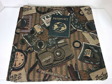 Tapestry Travel 12x12 Creative Memories Album Cover +15 White Pages Old Style