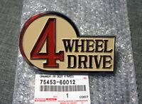 OEM Toyota Land Cruiser 4WD FJ40 BJ40 Rear Emblem Badge Logo Ornament...
