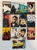 Rap Hip Hop R&B Cassette Singles (Lot of 13 Tapes) Notorious B.I.G. Monica LL
