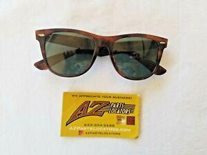 VINTAGE BAUSCH & LOMB Ray Ban Wayfarer II Sunglasses Tortoise Brown