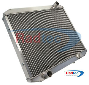 "New MGC alloy 60mm radiator + 14"" SPAL fan made by RADTEC"