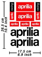 Aprilia Abziehbild Aufkleber Motorrad Vinyl Autocollant Aufkleber Adesivi /596