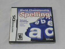World Championship Spelling (Nintendo DS, 2010) Brand New Factory Sealed