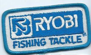 Ryobi Fishing Tackle employee/user patch 2 X 3-7/8 #728
