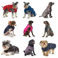 Ancol Muddy Paws Quilted Jacket Waterproof Warm Dog Coat All Weather Puppy Coats
