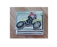 9mm Italian Charms E12 Trial Motor Motorcycle Motorbike Bike Fits Classic Size