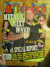 Limp Bizkit,  Four Page Fold Out Poster, Hit Parader Cover