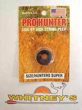 GWS Pro Hunter Side by Side String Peep Super Black 2325