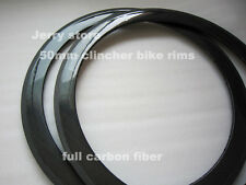25mm width 50mm clincher road carbon bicycle rims 700C Matte or glossy finish