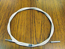 STURMEY ARCHER 3 SPEED TRIGGER GEAR CABLE ,SMOOTH WHITE FULL LENGTH OUTER CABLE