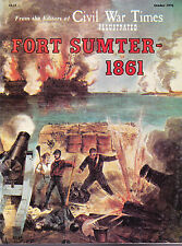 SUPERIOR SHIPPING  Fort Sumter - 1861  Civil War Times October 1976