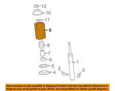AUDI OEM 12-17 A6 Quattro Front Suspension-Coil Spring 8K0411105EB