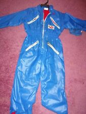 Vintage Ghostbuster Jumpsuit Style F103 Size 4 Made in Usa New