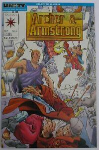 Archer & Armstrong #2 (Sep 1992, Valiant), NM (9.4), 2nd app Turok (cvr & sty)