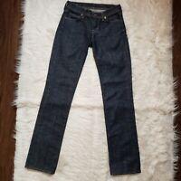 Citizens of Humanity Size 24 Ava #142 Low Waist Straight Leg Stretch Jeans Denim