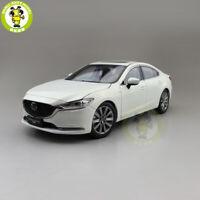 1/18 Mazda 6 ATENZA 2019 Diecast Model Car Toys Boys Girls Gifts White