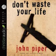 Don't Waste Your Life by John Piper (English) Compact Disc Book