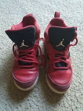 Toddler Boys Air Jordan Shoes –Size 11.5C preowned Red