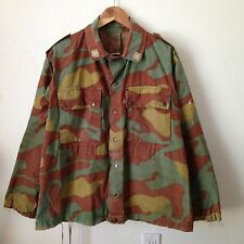 Vintage German Military Army Camo Shirt/Jacket - Distressed - Sz XL