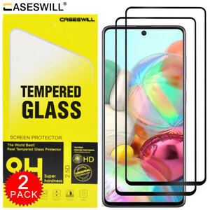 For Samsung Galaxy A12 M51 A21S A21 A41 A51 A71 Tempered Glass Screen Protector