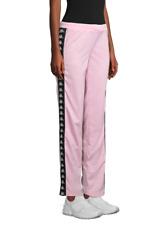 Kappa Women's Active Wastoria Track Pants, Size S, Soft Pink/Black, MSRP $80