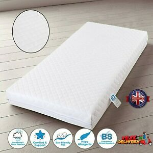 Travel Cot Mattress Baby Toddler Extra Thick Bed Foam 95x65x5cm Quick Delivery