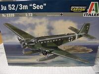"Italeri 1339 1:72 Junkers Ju 52/3m ""See"" NEU OVP"