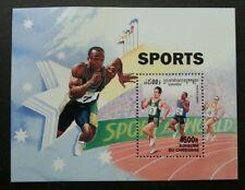 Cambodia Olympic Games 2000 Sports Runner (miniature sheet) MNH