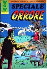 WOW ESTATE 1977 - SPECIALE ORRORE - SUPPLEMENTO AL N. 11 DI WOW  - LORO, FANZINE