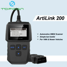 Automotive OBD2 Car Scanner OBDII EOBD Engine Check Code Reader Scan Tool TOPDON