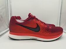Nike Air Zoom Pegasus 34 Reino Unido 7.5 Rojo Rush Marrón Negro 880555-603