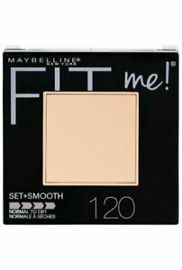 Maybelline Fit Me Pressed Powder Compact #120 Classic Ivory