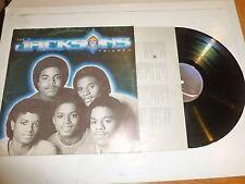 THE JACKSONS - Triumph - 1980 UK 9-track LP